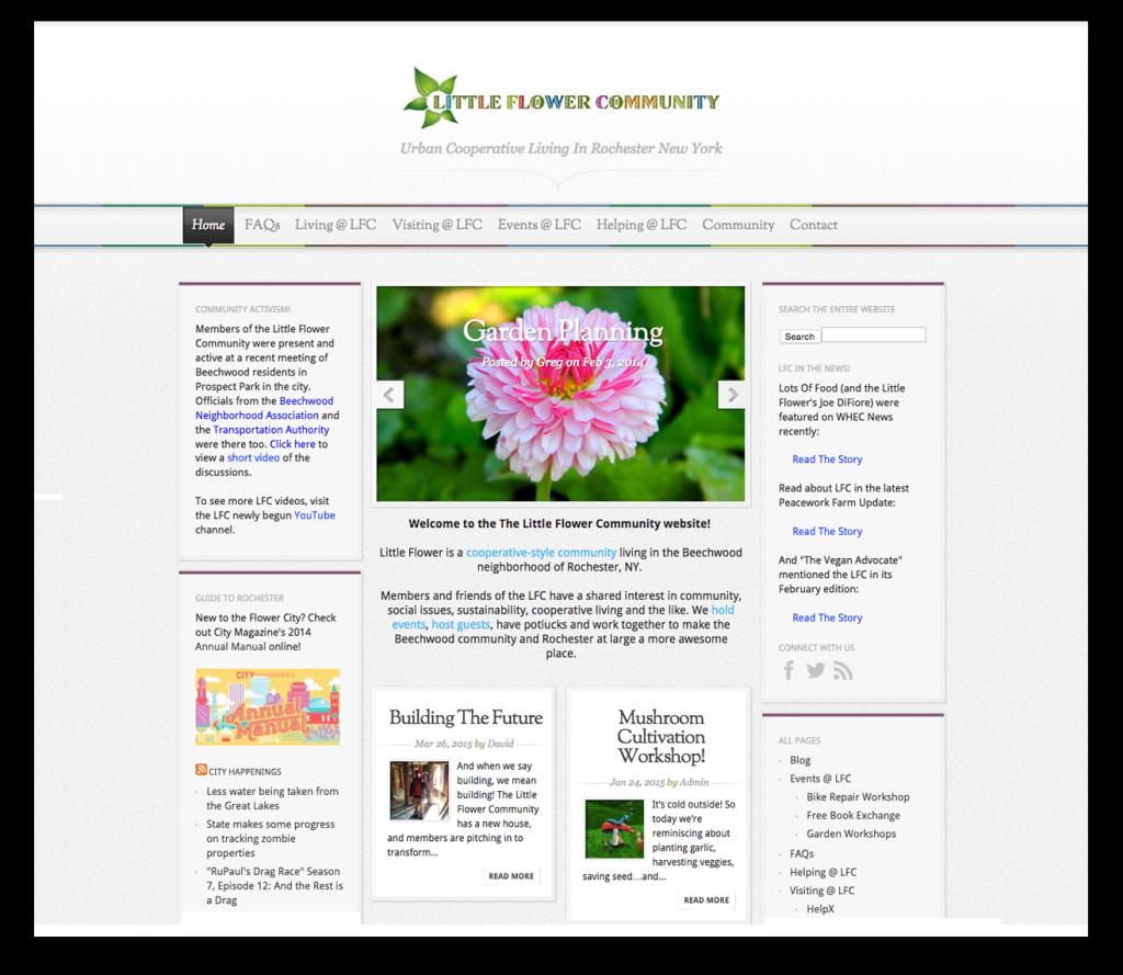 little-flower-splash-page